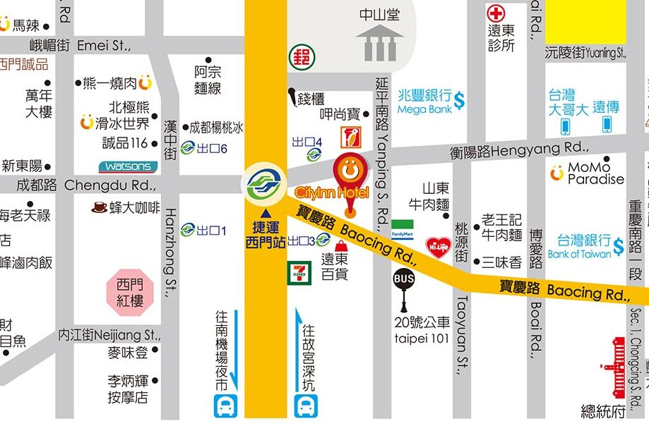 Top 6 hotels in ximending taipei missqiu live for Design ximen hotel review